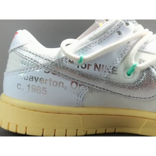 "GOD BATCH Off White x Nike Dunk Low ""The 50"" DM1602 127"