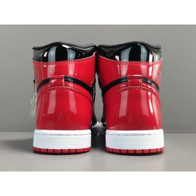 "X BATCH Air Jordan 1 High OG ""Bred Patent"" 555088 063"