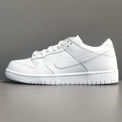 """TOP BATCH Nike Dunk Low Retro """"Triple White"""" DD1503 109"""