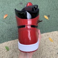 "LJR BATCH Air Jordan 1 High OG ""Bred Patent"" 555088 063"