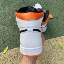 "LJR BATCH Air Jordan 1 Retro High OG ""Electro Orange"" 555088 180"