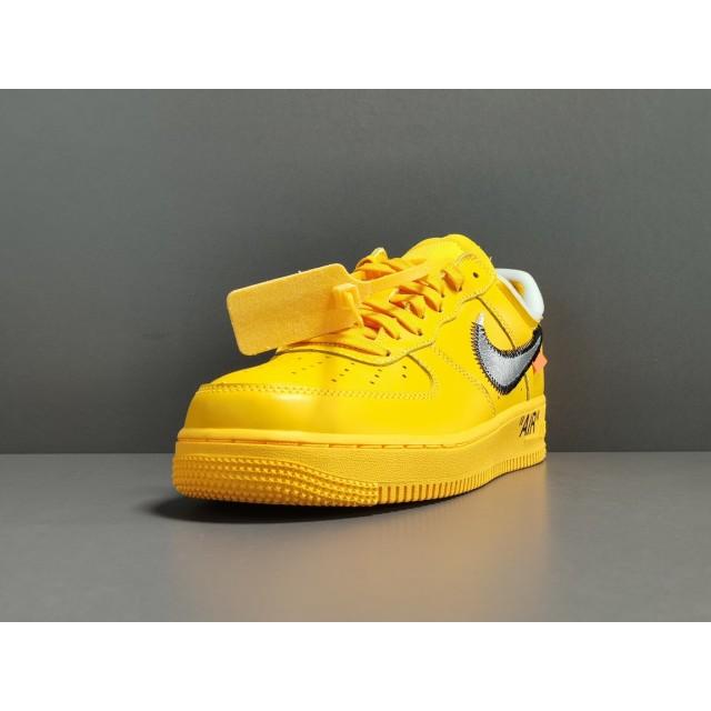 "GOD BATCH Off White x Nike Air Force 1 Low ""University Gold"" DD1876 700"