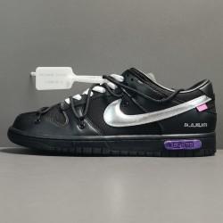 X BATCH OFF-WHITE x Nike Dunk Low DM1602 001