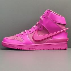 "GOD BATCH AMBUSH x Nike Dunk High ""Cosmic Fuchsia""  CU7544 600"