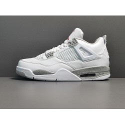 """GOD BATCH Air Jordan 4  """"White Oreo"""" CT8527 100"""