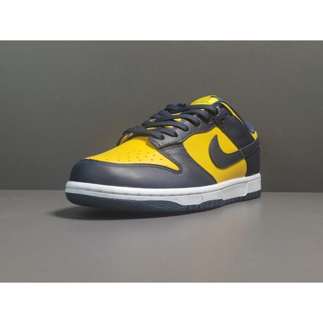 """GOD BATCH Nike Dunk Low """"Michigan"""" DD1391 700"""