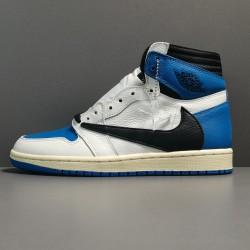 X BATCH Air Jordan 1 Military Blue x Fragment x Travis DH3227 105