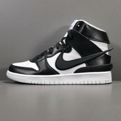 GOD BATCH AMBUSH x Nike Dunk High Black CU7544 001