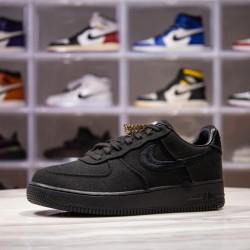 H12 BATCH Stussy x Nike Air Force 1 Low Triple Black CZ9084 001