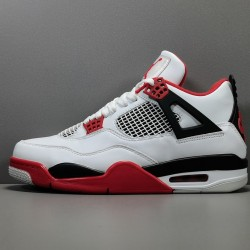 "GOD BATCH Air Jordan 4 Retro ""Fire Red"" DC7770 160"