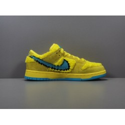 GOD BATCH Grateful Dead x Nike SB Dunk Low Yellow Bear CJ5378 700