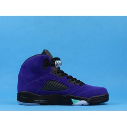 "GOD BATCH Nike Air Jordan 5 ""Alternate Grape"" 136027 500"