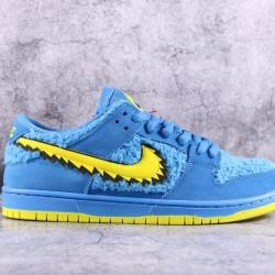 "TOP BATCH Grateful Dead x Nike SB Dunk Low ""Blue Bear"" CJ5378 700"