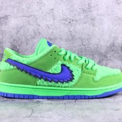 "TOP BATCH Grateful Dead x Nike SB Dunk Low ""Green Bear"" CJ5378 300"