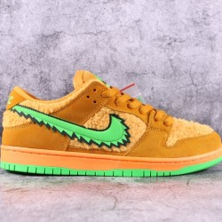 "TOP BATCH Grateful Dead x Nike SB Dunk Low ""Orange Bear"" CJ5378 800"