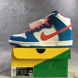 "TOP BATCH Nike SB Dunk High ""Doraemon"" CI2692 400"