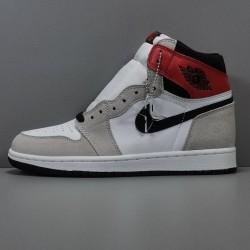 """X BATCH Air Jordan 1 High OG """"Light Smoke Grey"""" 555088 126"""
