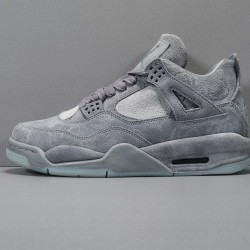"GOD BATCH KAWS x Air Jordan 4 ""Cool Grey"" 930155 003"