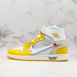 GOD BATCH Off White x Air Jordan 1 AQ0818 149