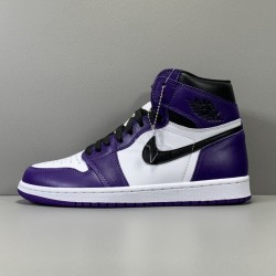 "X BATCH Air Jordan 1 ""Court Purple"" 555088 500"