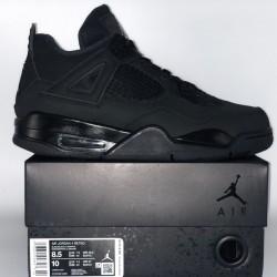 "H12 BATCH Air Jordan 4 Retro ""Black Cat"" CU1110-010"
