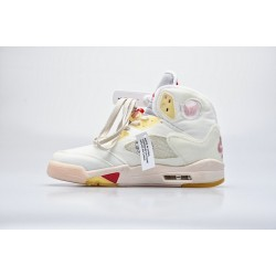 S2 BATCH Off White x Air Jordan 5 CT8480-002