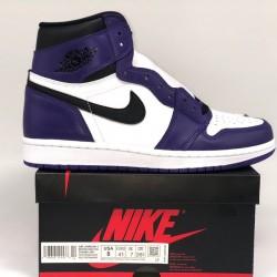 "PK BATCH Air Jordan 1 ""Court Purple"" 555088-500"