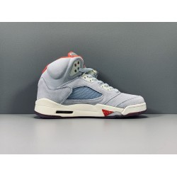 "GOD BATCH Trophy Room x Air Jordan 5 ""Ice Blue"" CL1899-400"