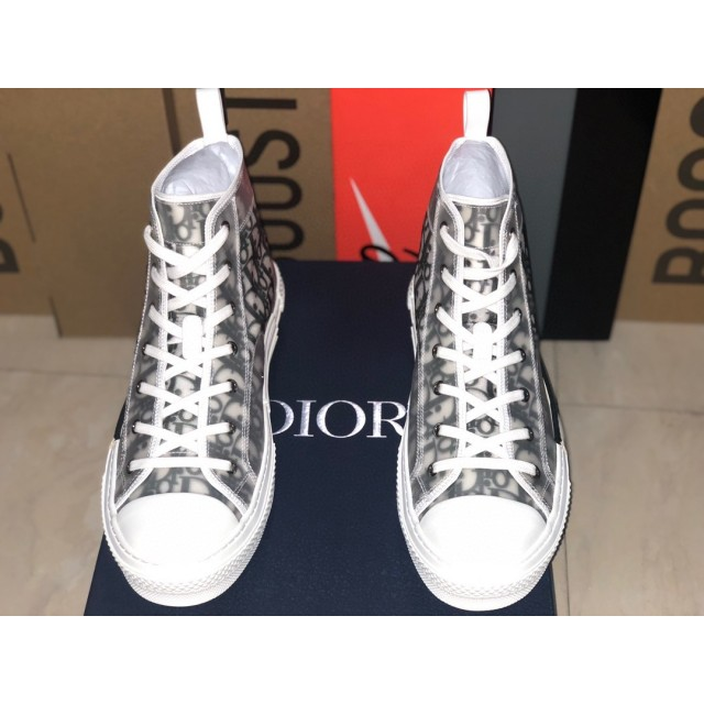 TOP BATCH  Dior Homme B23 Oblique High Top Sneakers