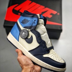 "S2 BATCH Air Jordan 1 Retro ""Obsidian"" 555088-140"