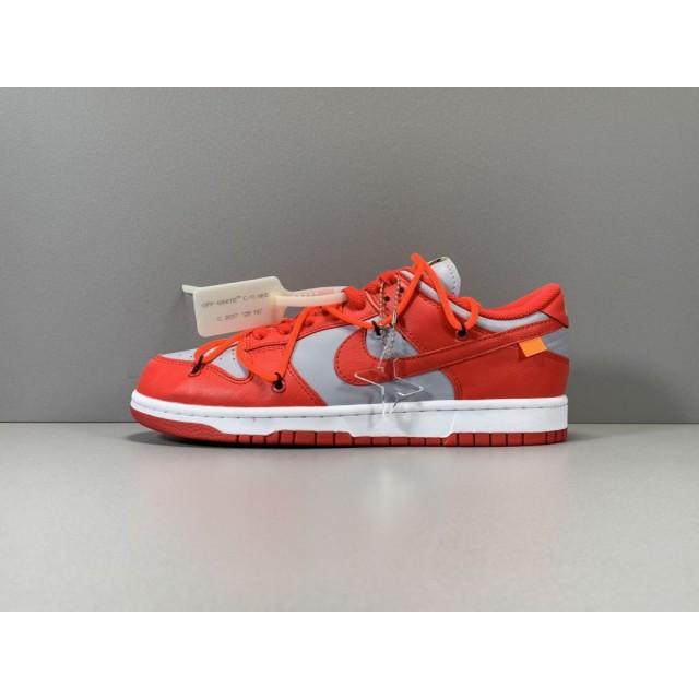 X BATCH OFF-WHITE x Nike Dunk Low CT0856-600
