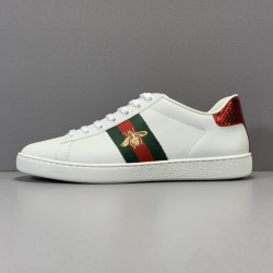 GOD BATCH Gucci Little Bee White Shoes 431942 A38G0 9064