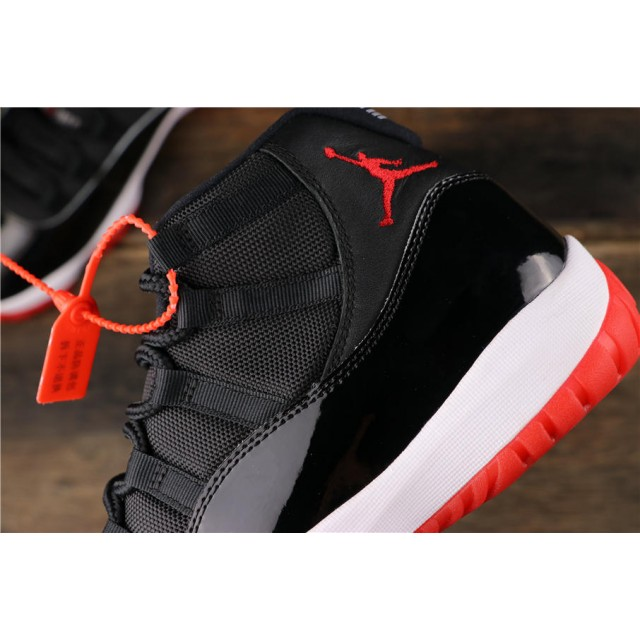 """GET Batch Men's Air Jordan 11 """"Bred""""  378037 061"""