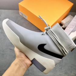 "GET Batch Unisex Nike Air Fear of GOD Batch Unisex 1 ""Light Bone"" AR4237 002"