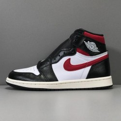GOD Batch Men's Air Jordan 1 High Black Gym Red 555088 061