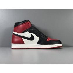 GOD Batch Men's Air Jordan 1 OG Bred Toe AJ1 555088 610