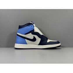 "GOD Batch Men's Air Jordan 1 Retro High OG ""Obsidian"" 555088 140"