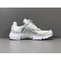 GOD Batch Unisex OW OFF WHITE x Nike Air Presto AA3830 002