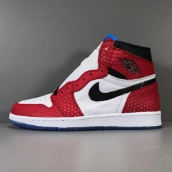 GOD Batch Men's Spider man Air Jordan 1 Retro High OG 555088 602