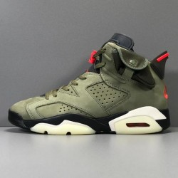GOD Batch Men's Travis Scott x Air Jordan 6 AJ6TS 3M CN1084 200
