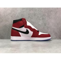 "H12 Batch Unisex Air Jordan 1 Retro High OG ""Origin Story"" 555088 602"