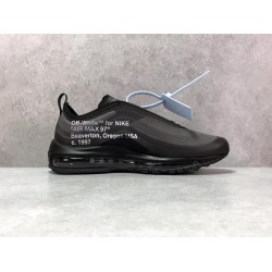 H12 Batch Unisex OFF WHITE X Nike Air Max 97 OW AJ4585 101