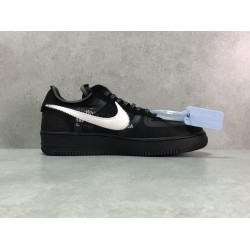 "H12 Batch Unisex Off White x Nike Air Force1 ""White""  & ""Black"" AO4606 001"