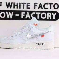 OWF Batch Unisex OFF WHITE X Nike Air Force 1 Complexcon AO4297 100