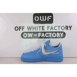 OWF Batch Unisex OFF WHITE X Nike Air Force 1 Low MCA University Blue CI1173 400