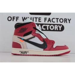 "OWF Batch Unisex OFF WHITE x Air Jordan 1 High OG 10X"" Chicago"" AA3834 101"