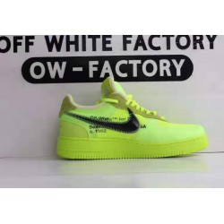 OWF Batch Unisex OFF WHITE X Nike Air Force 1 Low Volt AO4606 700