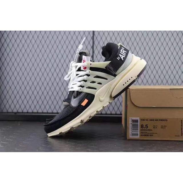 OWF Batch Unisex OFF WHITE x Nike Air Presto AA3830 001