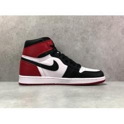 """PK Batch Men's Air Jordan 1 """"Black Toe"""" 555088 125"""