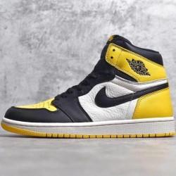 "PK Batch Men's Air Jordan 1 Retro High OG ""Yellow Toe"" AR1020 700"